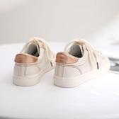 小白鞋女春季新款百搭港風白鞋韓版學生ins貝殼休閒運動板鞋 探索先鋒