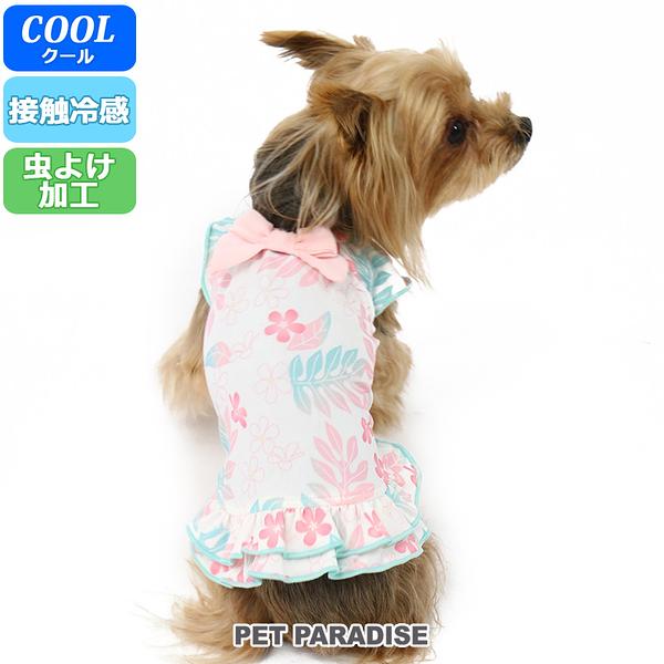 【PET PARADISE 寵物精品】 Pretty Boutique 暈染花卉涼感洋裝(3S/DS/DM) 寵物衣服