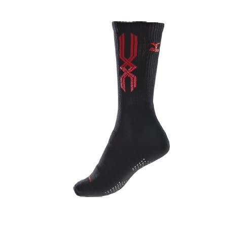 MIZUNO 美津濃 女款 兒童 運動厚底襪 排球襪(22~25cm) 羽球襪 32TX720596 專業運動襪  [陽光樂活=]