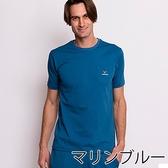 VENEX STANDARD NATURAL 休養衣 紳士型 短袖T恤上衣 藏青藍