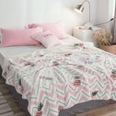 極柔牛奶絨羊羔絨雙層保暖毯-菠蘿
