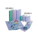 《享亮商城》CD-301-1 果凍色二孔CD保存夾
