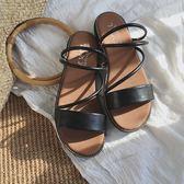 (ZD-3366)涼鞋-韓系小清新簡約質感涼鞋-共2色
