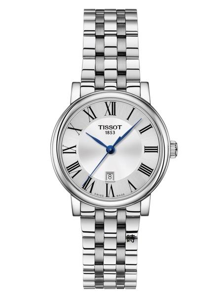 TISSOT 天梭/卡森系列 經典優雅時尚手錶 T1222101103300 禮物/30mm