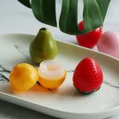 可愛小水果盒 雙隔層旅行便攜伴侶盒美瞳盒5個裝【中秋節85折】