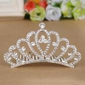皇冠頭飾 皇冠頭飾兒童發飾公主王冠發箍小女孩發卡女童水鉆頭箍發梳生日 交換禮物