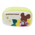 【日本進口正版】小熊學校 棉質 長型 收納包 零錢包 The Bears' School - 430627
