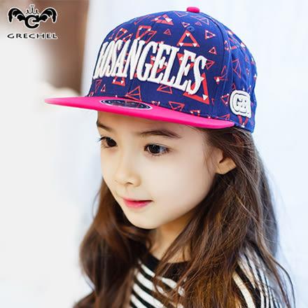韓版兒童嘻哈撞色棒球帽