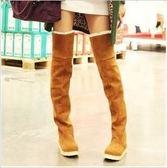 618好康又一發韓版女式高筒過膝長靴