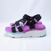 Skechers MAX CUSHIONING SLAY涼鞋 140120BKMT 女款 粉【iSport愛運動】