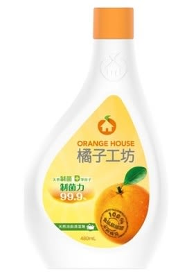 橘子工坊浴廁清潔劑重裝瓶480ml