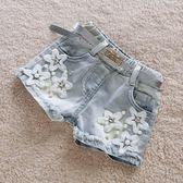女童短褲2018夏季新款童裝兒童牛仔短褲薄潮中大童褲女童褲子熱褲 挪威森林