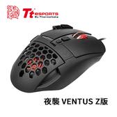Tt eSports 曜越 夜襲 VENTUS Z版 雷射引擎電競滑鼠 MO-VEZ-WDLOBK-01