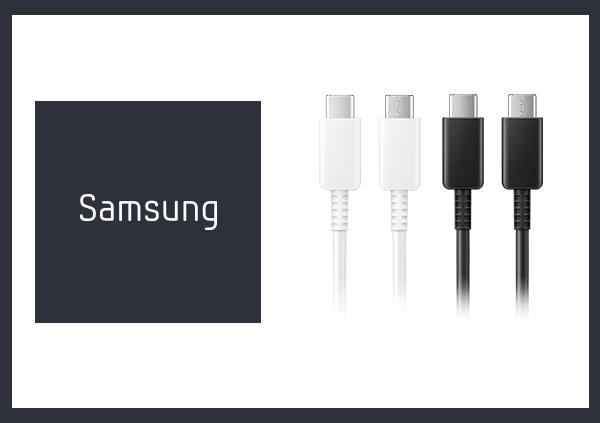 SAMSUNG 原廠 3A Type-C to Type-C 充電傳輸線 Note20系列款 (盒裝拆售款)