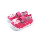 Hello Kitty 凱蒂貓 娃娃鞋 室內鞋 桃紅色 中童 童鞋 719818 no785