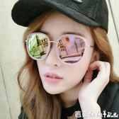 女士太陽眼鏡 墨鏡女潮眼鏡2018新款圓形優雅太陽鏡女士圓臉韓國個性 芭蕾朵朵