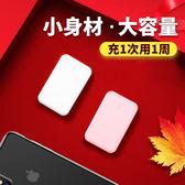 现货-迷妳行動電源20000m超薄大容量通用小巧型oppo手機vivo蘋果萬能便攜快充閃充小米mini
