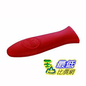 [103 美國直購] 鑄鐵鍋矽膠防熱柄套 Lodge ASHH41 Silicone Hot Handle Holder 紅色_CB1