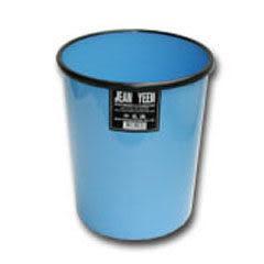 [奇奇文具]【垃圾桶】 大名流圓桶(藍)/垃圾桶