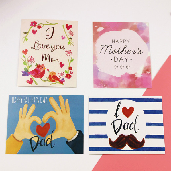 【BlueCat】爸爸我愛您父親節小卡片