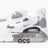 【海外限定】Nike 休閒鞋 Air Max 200 BBY Drgn GS 白 灰 女鞋 大童鞋 運動鞋 【ACS】 CQ4009-100