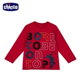 chicco To Be B 英文滑板剪影長袖上衣