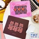 桌墊鼠標墊女韓版書桌電腦桌面可愛滑鼠墊小號【英賽德3C數碼館】
