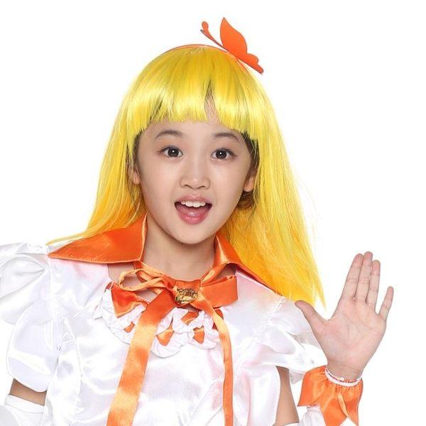 巴拉巴拉小魔仙巴拉拉假發兒童女童公主裙 3C公社