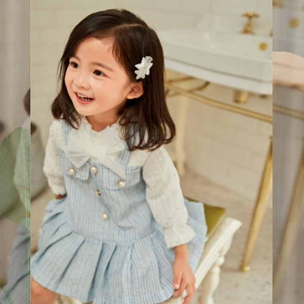 女寶寶秋裝裙子小香風春秋季1周歲2生日禮服3女童4洋氣公主洋裝 怦然心動