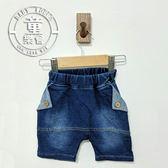 童裝 寶寶 休閒 五分褲 反摺 牛仔 短褲