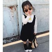 允兒媽女童2020春季裝新款連體褲寶寶外穿休閒背帶短褲兒童褲子潮
