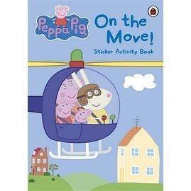【佩佩豬】PEPPA PIG ON MOVE /貼紙書