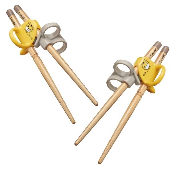康貝 Combi 巧虎三階段彈力學習筷(右手/左手)