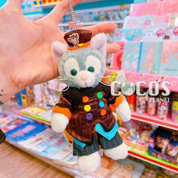 日本東京迪士尼 海洋樂園限定 萬聖節限定版 傑拉托尼 畫家貓 站姿款 絨毛娃娃吊飾 COCOS TN650