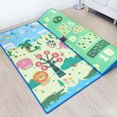 爬行墊 加厚無味嬰兒童客廳家用爬爬墊毯泡沫地墊折疊防潮 nm5854【VIKI菈菈】