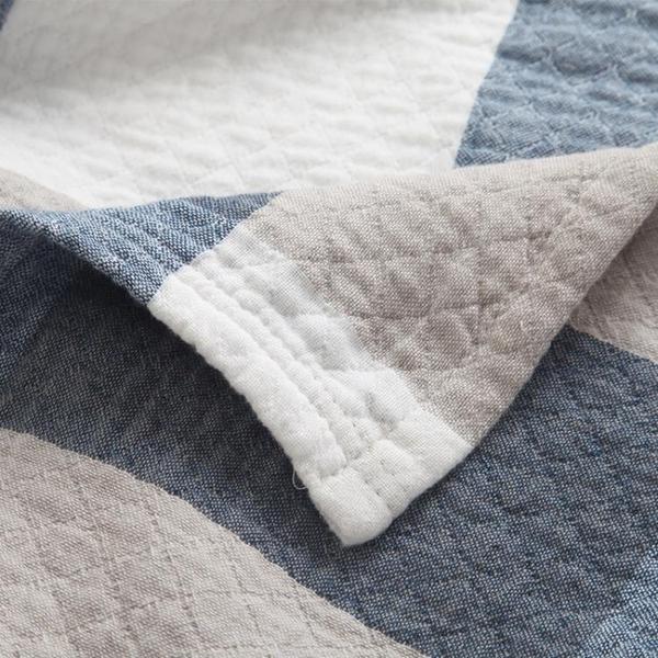 夏季純棉毛巾被加厚三層水洗紗布毯子雙單人空調被學生兒童午睡被 新年特惠