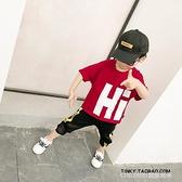 長袖上衣 童裝兒童棉質打底衫中大童短袖T恤新款韓版男童寬鬆上衣 童趣潮品