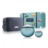 BVLGARI 寶格麗 活力海洋能量男性淡香水禮盒(100ml+15ml+包) Vivo薇朵