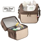 Baby Street FRANCE 雙揹式母乳保冷袋(附冰磚2入,可放3支奶瓶)