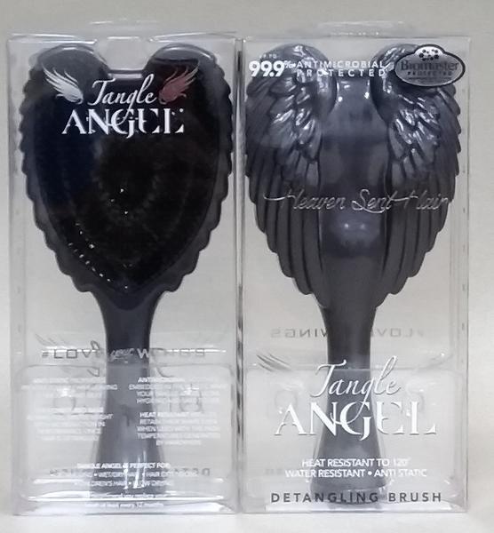 英國TANGLE TEEZER 天使梳-鐵灰黑/原裝進口/耐熱 抗菌 抗靜電細緻的質感/尺寸 18.7 cm