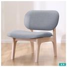 ◎實木餐椅 RELAX WW/GY 橡膠...