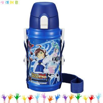 特賣 OSK救難小英雄  小雙俠 龍之子 不鏽鋼保冷専用水壺 彈扣式 630ml 兒童水壺 日本進口正版 111099