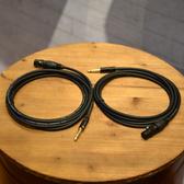小叮噹的店 - 麥克風線 3M 鍍金 台灣手工製 卡農頭 Canon XLR 6.3 單聲道/雙聲道 NYSS-MIC