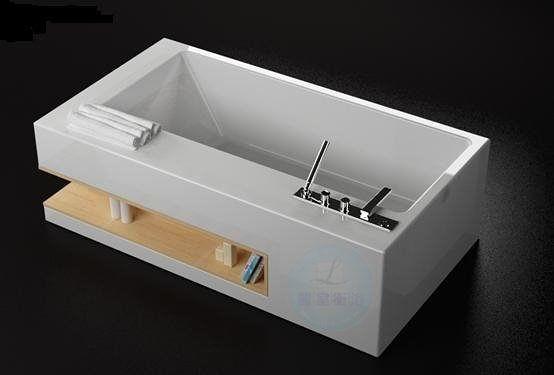 【麗室衛浴】Eric Bathtub Design 2013 豪華景觀飯店VIP套房專用 壓克力獨立造型浴缸
