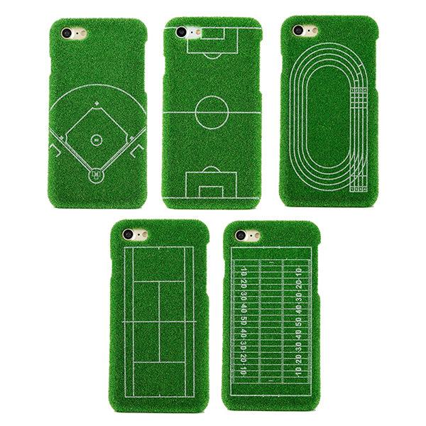 iPhone 6/6s Plus 手機殼 日本 獨家代理 草地/草皮/足球/運動場 硬殼 5.5吋 Shibaful -足球運動場