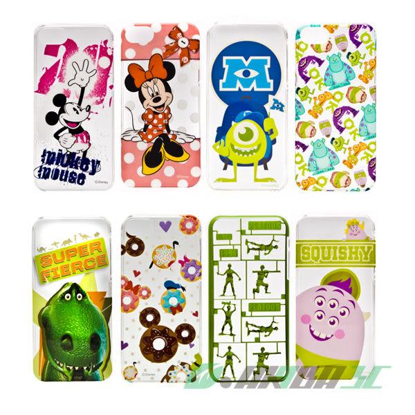 iPhone SE/5/5S 迪士尼 Disney 86hero 透明硬式保護殼