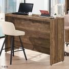 【森可家居】班克5尺吧檯工作桌 10JX519-1 附插座 中島吧台桌 LOFT復古工業風 MIT台灣製造