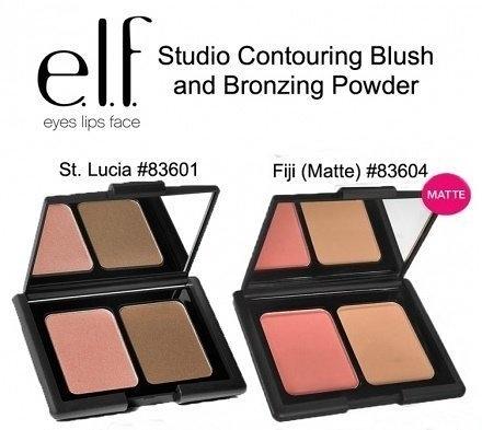 【愛來客 】美國ELF彩妝 Contouring Blush & Bronzing Powder 腮紅修容盤