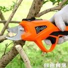 電動剪刀果樹修樹枝充電式小型家用多功能園藝高枝粗枝省力高空剪 自由角落