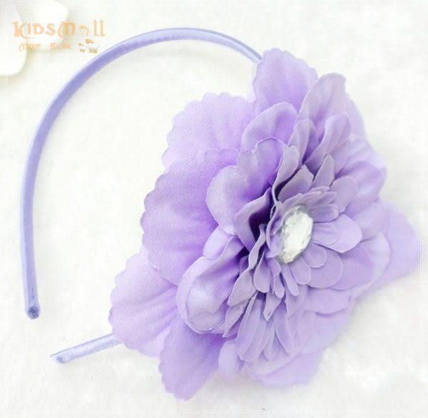 Cutie Bella牡丹花髮箍-Lilac
